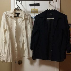 Marc by Marc Jacobs button down size 2 and size 6